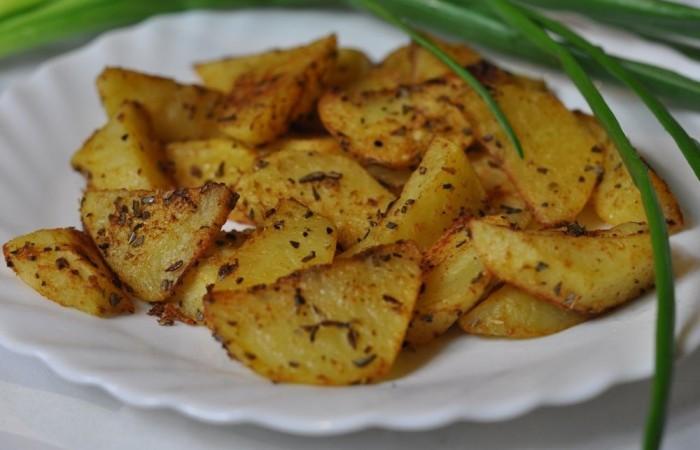 «довольно простой вариант гарнира из картофеля.