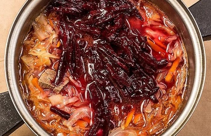Борщ лучший рецепт с говядиной
