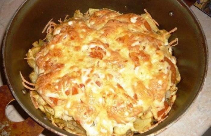 Картофель по-французски рецепт с курицей
