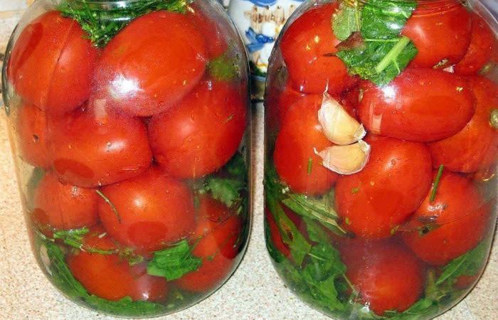 Рецепт засолки помидор с фото