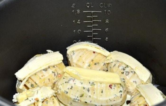 Картошка с сыром в мультиварке рецепт