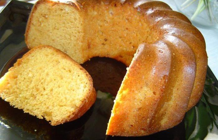 Кекс на сливках рецепт с фото