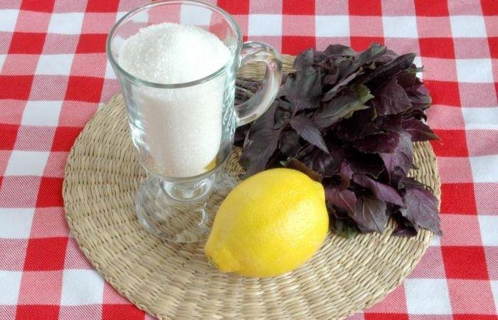 Напиток из базилика рецепт с